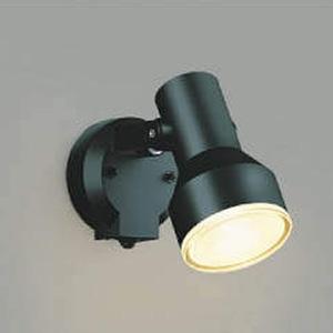 コイズミ照明 LED一体型スポットライト 防雨型 ビーム球150W相当 電球色 タイマー付人感センサ付 黒 AU45239L