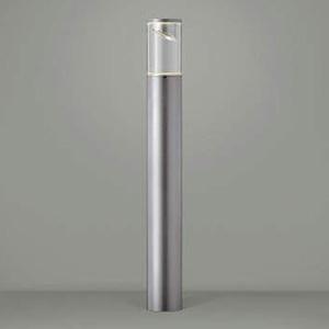 コイズミ照明 LED一体型ガーデンライト 防雨型 サイド配光タイプ 白熱球40W相当 電球色 シルバーメタリック AU45262L