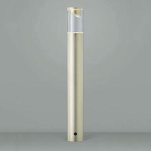 コイズミ照明 LED一体型ガーデンライト 防雨型 サイド配光タイプ 白熱球40W相当 電球色 ウォームシルバー AU45263L