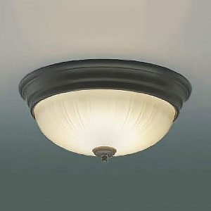 コイズミ照明 LED小型シーリングライト リフォーム対応 FCL30W相当 電球色 アンティークブロンズ AH45296L