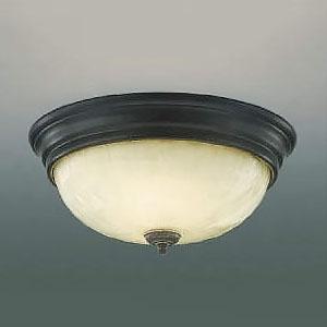 コイズミ照明 LED小型シーリングライト リフォーム対応 FCL30W相当 電球色 アンティーク古美 AH45297L