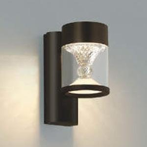 コイズミ照明 LED一体型ポーチ灯 《TWIN LOOKS》 防雨型 クラシカルタイプ 白熱球60W相当 電球色 調光タイプ ブラウン AU45496L