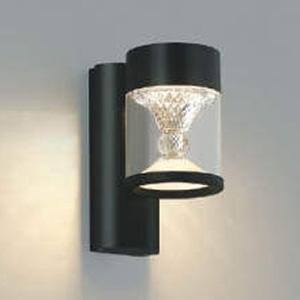 コイズミ照明 LED一体型ポーチ灯 《TWIN LOOKS》 防雨型 クラシカルタイプ 白熱球60W相当 電球色 調光タイプ 黒 AU45497L