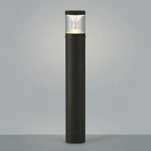 コイズミ照明 LED一体型ガーデンライト 《TWIN LOOKS》 防雨型 クラシカルタイプ 白熱球60W相当 電球色 調光タイプ ブラウン AU45500L