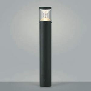 コイズミ照明 LED一体型ガーデンライト 《TWIN LOOKS》 防雨型 クラシカルタイプ 白熱球60W相当 電球色 調光タイプ 黒 AU45501L