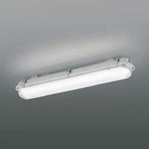 コイズミ照明 LED一体型シーリングライト 防塵・防水タイプ 天井・壁面取付用 FHF16W相当 昼白色 AU45796L