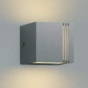 コイズミ照明 LED一体型ポーチ灯 防雨型 上下面照射タイプ 白熱球40W相当 電球色 調光タイプ ダークグレーメタリック AU45804L