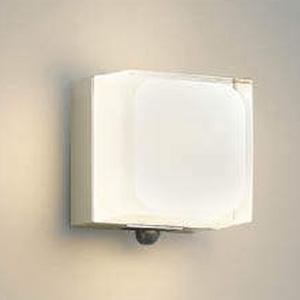 コイズミ照明 LED一体型ポーチ灯 防雨型 白熱球60W相当 電球色 マルチタイプ人感センサ付 ウォームシルバー AU45868L
