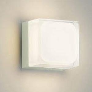 コイズミ照明 LED一体型ポーチ灯 防雨型 白熱球60W相当 電球色 調光タイプ オフホワイト AU45869L