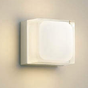 コイズミ照明 LED一体型ポーチ灯 防雨型 白熱球60W相当 電球色 調光タイプ ウォームシルバー AU45872L