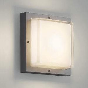コイズミ照明 LED一体型ブラケットライト 防雨・防湿型 白熱球60W相当 電球色 ダークグレーメタリック AU45914L