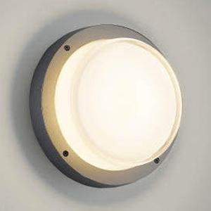 コイズミ照明 LED一体型ブラケットライト 防雨・防湿型 白熱球60W相当 電球色 ダークグレーメタリック AU45918L