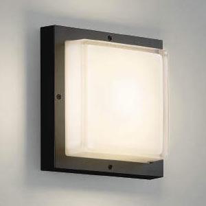 コイズミ照明 LED一体型ブラケットライト 防雨・防湿型 白熱球60W相当 電球色 黒 AU46391L