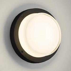 コイズミ照明 LED一体型ブラケットライト 防雨・防湿型 白熱球60W相当 電球色 黒 AU46393L