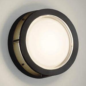 コイズミ照明 LED一体型ブラケットライト 防雨・防湿型 ガードタイプ 白熱球60W相当 電球色 黒 AU46394L