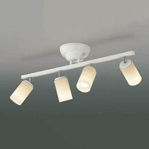 コイズミ照明 LEDシャンデリア 白熱球60W×4灯相当 電球色 リモコン付 AA47246L