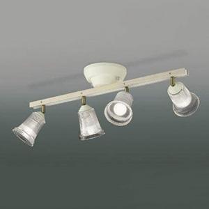 コイズミ照明 LEDシャンデリア 白熱球60W×4灯相当 電球色 AA47249L
