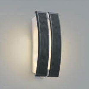 コイズミ照明 LEDポーチ灯 防雨型 不透過タイプ 白熱球40W相当 電球色 タイマー付人感センサ付 ダークグレー AU47306L