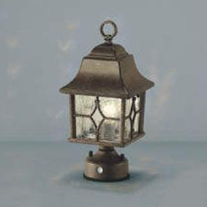 コイズミ照明 LED門柱灯 防雨型 白熱球40W相当 電球色 自動点滅器付 AU47338L