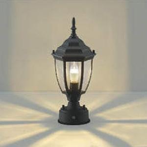 コイズミ照明 LED門柱灯 防雨型 白熱球40W相当 電球色 自動点滅器付 AU47342L