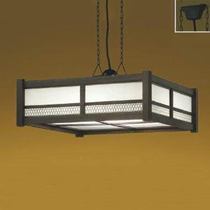 コイズミ照明 LED一体型和風ペンダントライト 《炉廓》 ~8畳用 電球色~昼光色 調光・調色タイプ リモコン付 AP47448L
