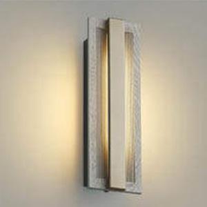 コイズミ照明 LED一体型ポーチ灯 防雨型 白熱球40W相当 電球色 マルチタイプ人感センサ付 グレイッシュウッド AU48008L