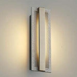 コイズミ照明 LED一体型ポーチ灯 防雨型 白熱球40W相当 電球色 マルチタイプ人感センサ付 ナチュラルウッド AU48009L