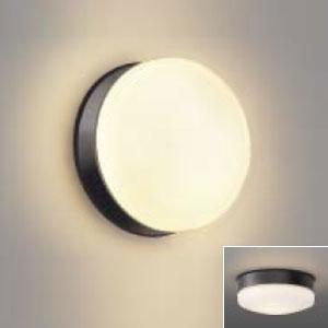 コイズミ照明 LED浴室灯 防雨・防湿型 壁面・天井面取付用 器具外結線専用 白熱球100W相当 電球色 ダークグレー AW48066L