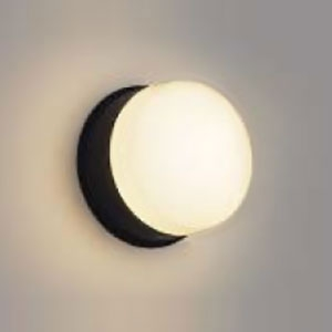 コイズミ照明 LED浴室灯 正規販売店 防雨 防湿型 器具外結線専用 AW48067L 新品未使用 黒 電球色 白熱球40W相当