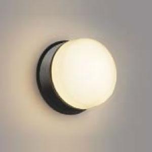 コイズミ照明 LED浴室灯 防雨・防湿型 器具外結線専用 白熱球40W相当 電球色 ダークグレー AW48068L