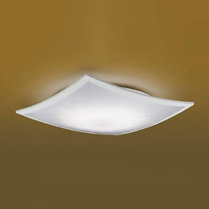 コイズミ照明 LED和風シーリングライト 《詩旗》 ~12畳用 電球色~昼光色 調光・調色タイプ リモコン付 白 AH48761L