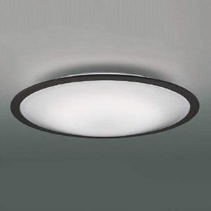 コイズミ照明 LEDシーリングライト 《FIGMO》 ~6畳用 調光・調色タイプ 電球色~昼光色 リモコン付 シックブラウン AH48866L