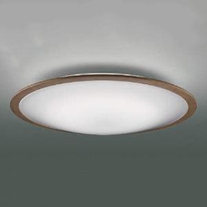 コイズミ照明 LEDシーリングライト 《FIGMO》 ~12畳用 調光・調色タイプ 電球色~昼光色 リモコン付 ウォームブラウン AH48875L