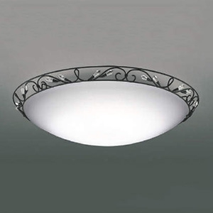 コイズミ照明 LEDシーリングライト 《AGENTE》 ~8畳用 調光・調色タイプ 電球色~昼光色 リモコン付 AH48897L