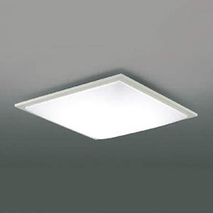 コイズミ照明 LEDシーリングライト 《SQUOOD》 ~10畳用 調光・調色タイプ 電球色~昼光色 リモコン付 ファインホワイト AH48911L