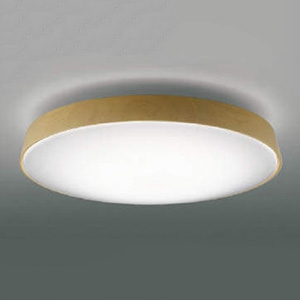 コイズミ照明 LEDシーリングライト 《TAVOLETTA》 ~12畳用 調光・調色タイプ 電球色~昼光色 リモコン付 ナチュラル AH48974L