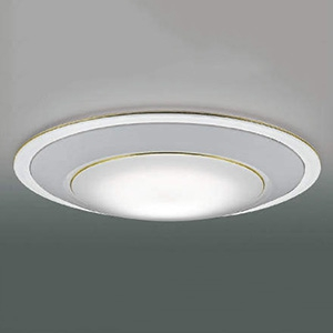 コイズミ照明 LEDシーリングライト ~12畳用 リフォーム対応用 調光・調色タイプ 電球色~昼光色 リモコン付 白 AH49007L