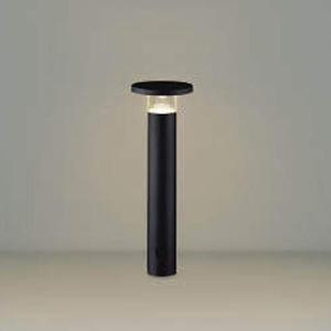 コイズミ照明 LEDエクステリアポールライト 防雨型 400mmタイプ 電球色 サテンブラック AU49066L