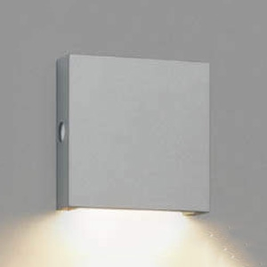 コイズミ照明 LEDエクステリアブラケットライト 防雨型 下方照射タイプ 白熱球40W相当 自動点滅器付 価格 交渉 送料無料 AU49069L 電球色 サテンシルバー 商い