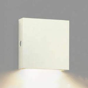 コイズミ照明 LEDエクステリアブラケットライト 防雨型 下方照射タイプ 毎週更新 白熱球40W相当 AU49070L 電球色 自動点滅器付 サテンホワイト 美品