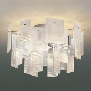 コイズミ照明 LEDシャンデリア 《Ripplet》 白熱球40W×8灯相当 電球色 透明消し AA49273L