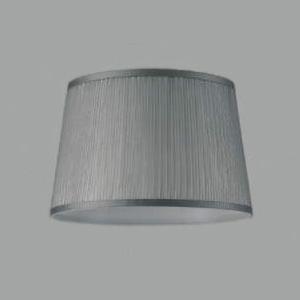 コイズミ照明 セード フロアスタンド用 グレー色オーガンジープリーツ AE49318E