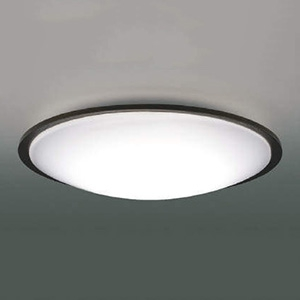 コイズミ照明 LEDシーリングライト 《Reeter》 ~12畳用 調光・調色タイプ 電球色~昼光色 リモコン付 シックブラウン AH49323L