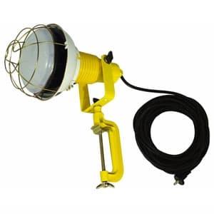 日動工業 作業用LED投光器 バラストレス水銀灯500W相当 ワイドタイプ 高演色LED電球 ハイスペックエコビック50W 昼白色 口金E39 電線10m 防雨2Pプラグ ATL-5010