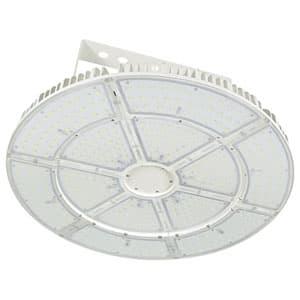 日動工業 高天井用LED器具 エースディスク500W アーム式(吊下げ型) 水銀灯1000W相当 昼白色 直流電源装置一体型 ワイドタイプ L500W-P-AW-50K