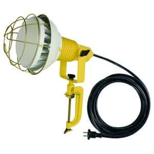 日動工業 作業用LED投光器 バラストレス水銀灯300W相当 ワイドタイプ 高演色LED電球 ハイスペックエコビック40W 昼白色 口金E39 電線5m 防雨2Pプラグ ATL-4005J-50K