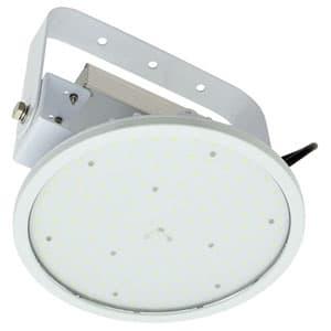日動工業 高天井用LED器具 ハイディスク150W アーム式(吊下げ型) 高効率タイプ HID400W相当 昼白色 電源装置一体型 ワイドタイプ クリア L150V2-P-HW-50K