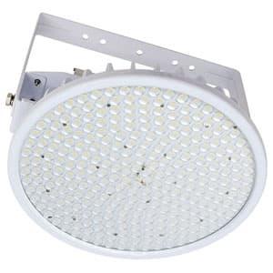 日動工業 高天井用LED器具 ハイディスク200W アーム式(吊下げ型) 高効率タイプ 水銀灯700W相当 昼白色 電源装置一体型 スポットタイプ クリア L200V2-P-HS-50K