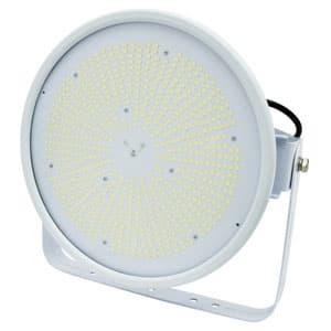 日動工業 LED投光器 ハイスペックハイディスク200W 水銀灯1000W相当 昼白色 電源装置一体型 ワイドタイプ 電線ポッキンプラグ5m付 クリア L200V2-D-HW-50K-N