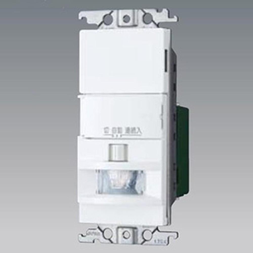 売却 倉庫 パナソニック 熱線センサ付自動スイッチ 《かってにスイッチ》 壁取付 WTK1511W 2線式 LED専用1.2A